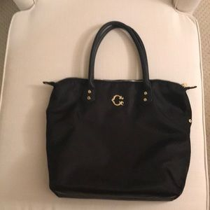 C. Wonder Black Nylon Tote
